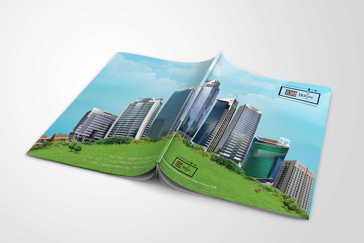 Architecture Design Brochure brochure design | abu dhabi brochure design | graphics design